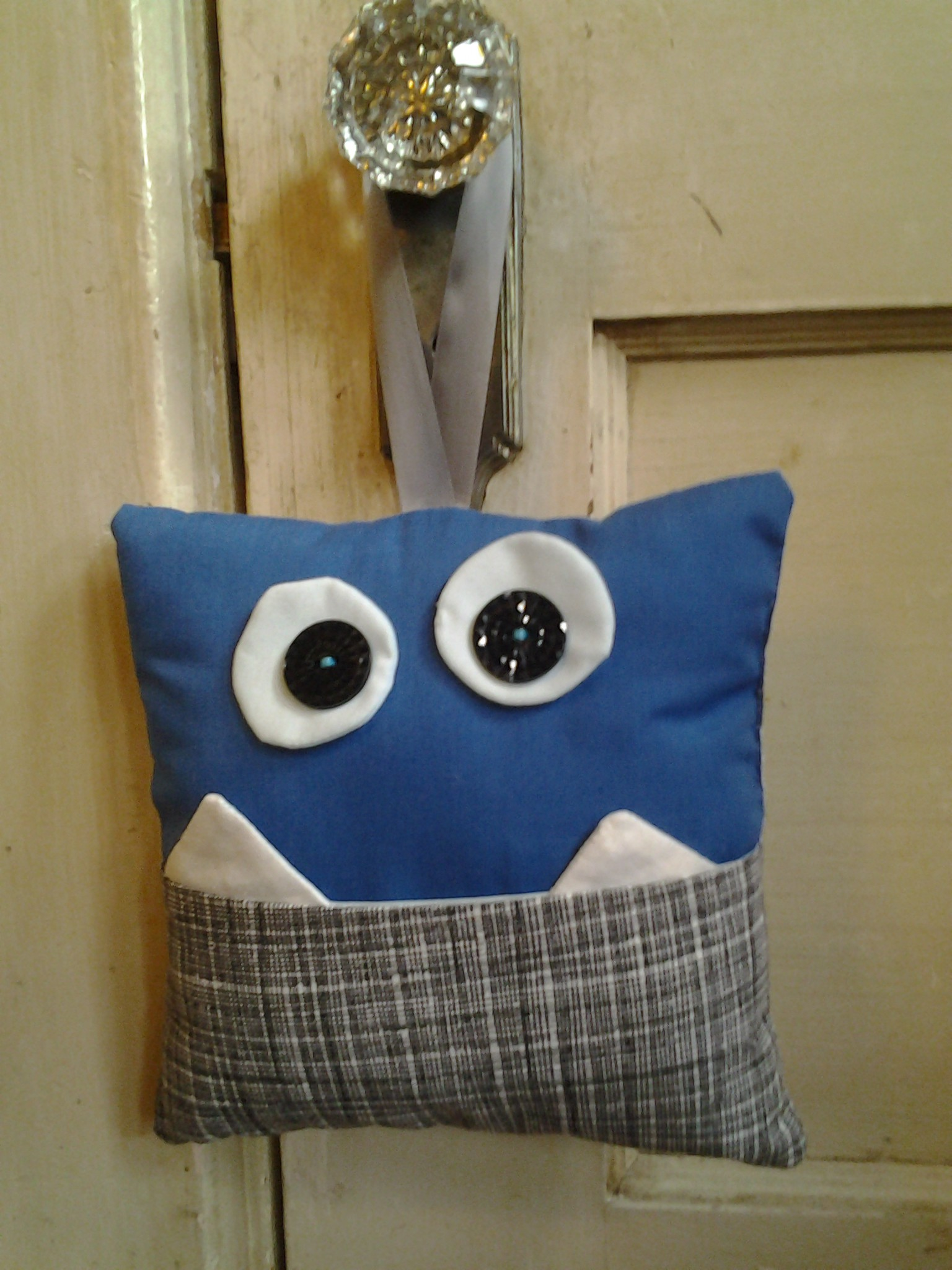 Voila A Tooth Fairy Monster Pillow Is Made